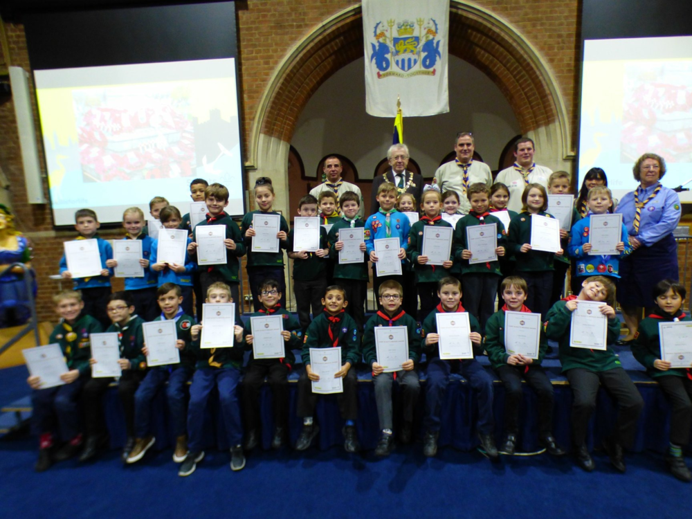 Medway Beavers Achieve Top Award