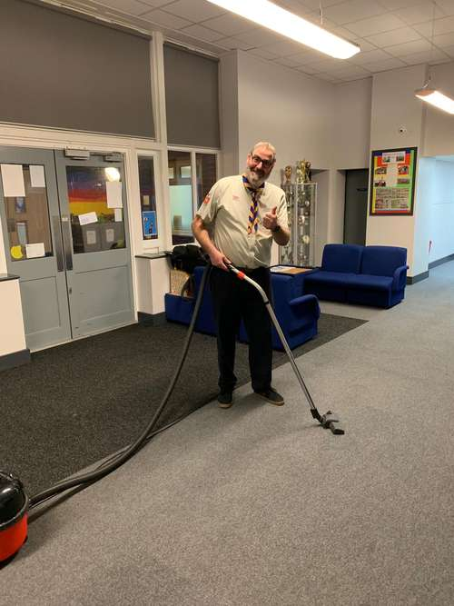 david_cleans_up